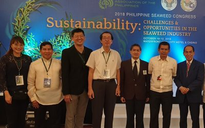 Attending the 2018 Seaweed Congress in the Philippines