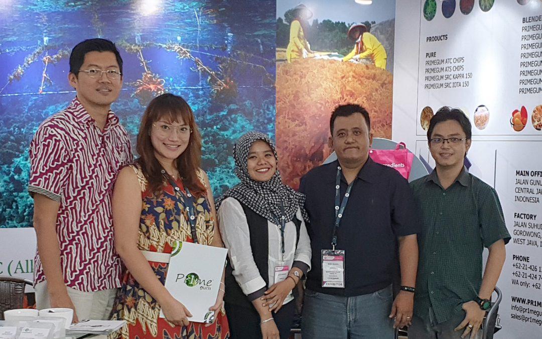 Pr1megum at Food Ingredient Asia 2018
